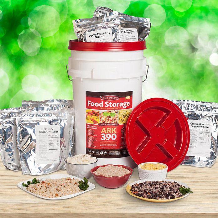 emergency food kit