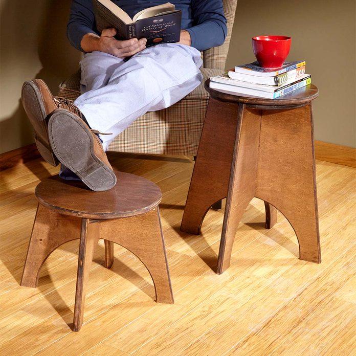 jigsaw stools