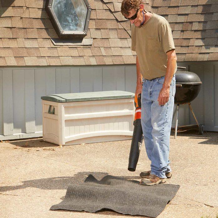 leaf blower vacuum clean