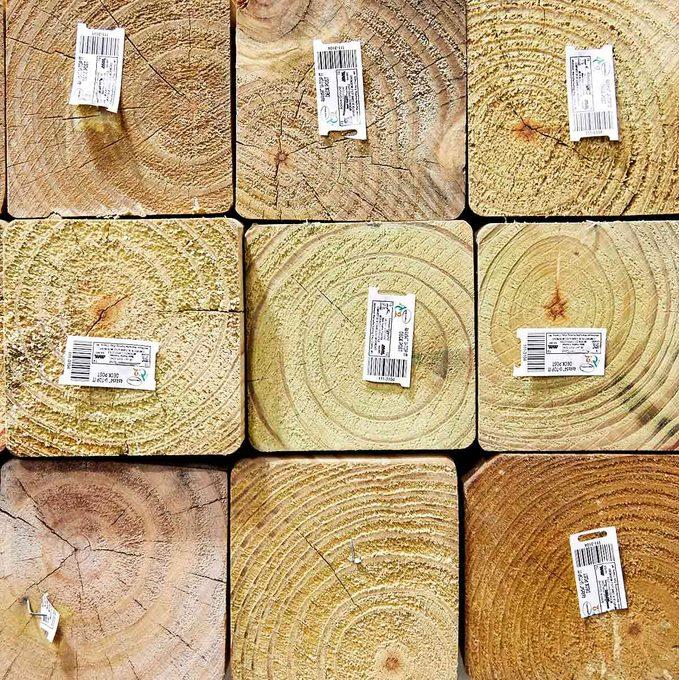 4x4 lumber posts