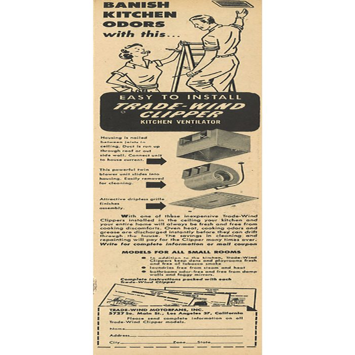 An ad for the Trade-wind clipper   Construction Pro Tips