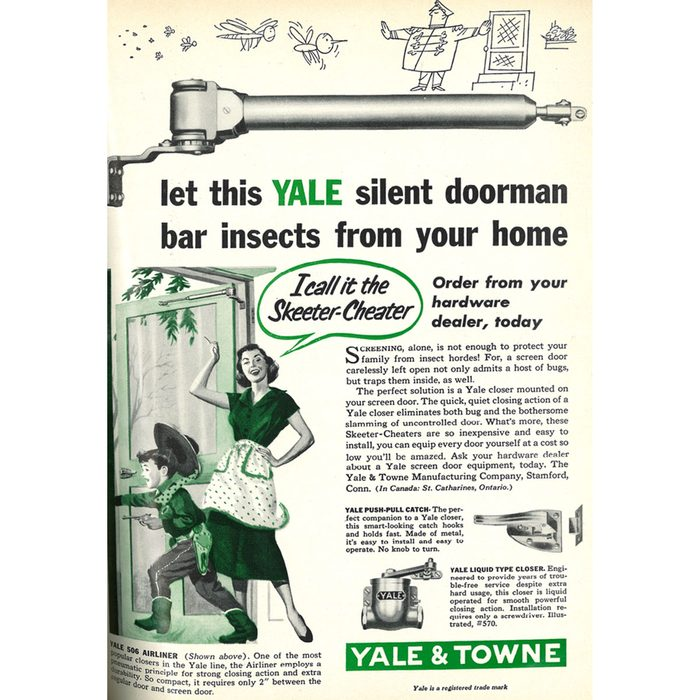 An ad for Yale   Construction Pro Tips