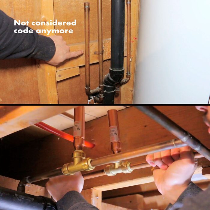 Examples of arrestors in piping | Construction Pro Tips