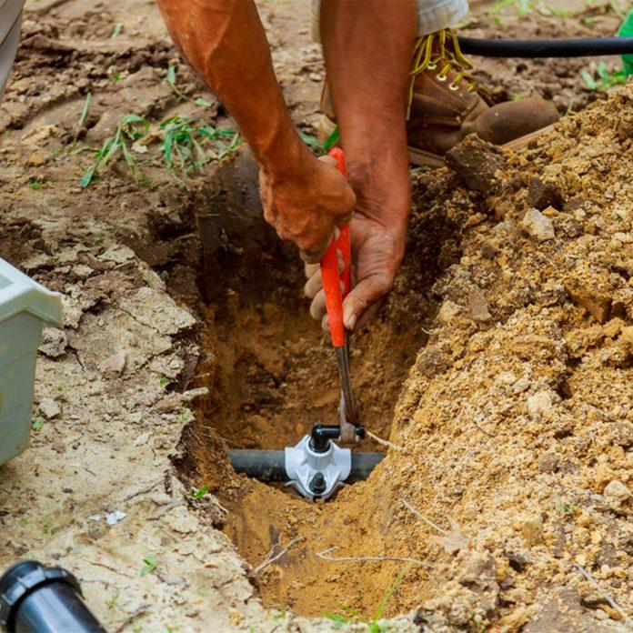 install irrigation