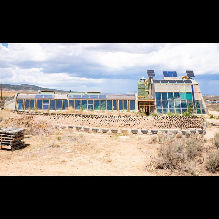 Earthship-New-Mexico