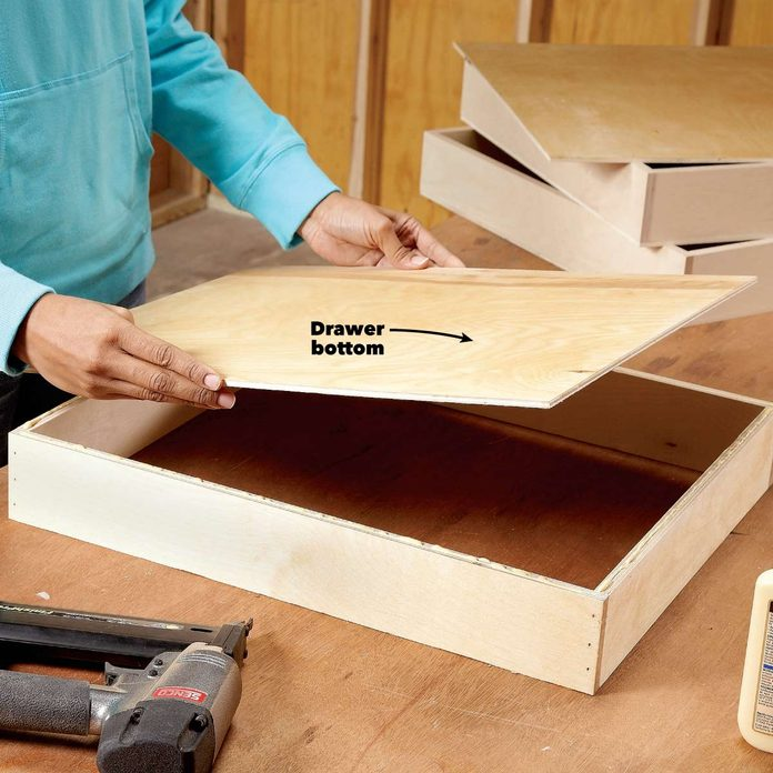 under cabinet drawer build drawers