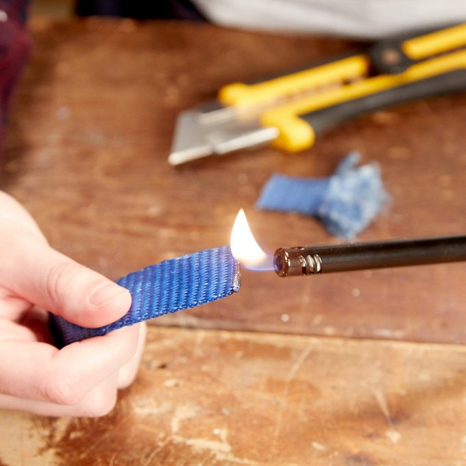 HH fix frayed straps lighter