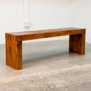 How To Build a Finger-Joint Bench with 2×4 Boards