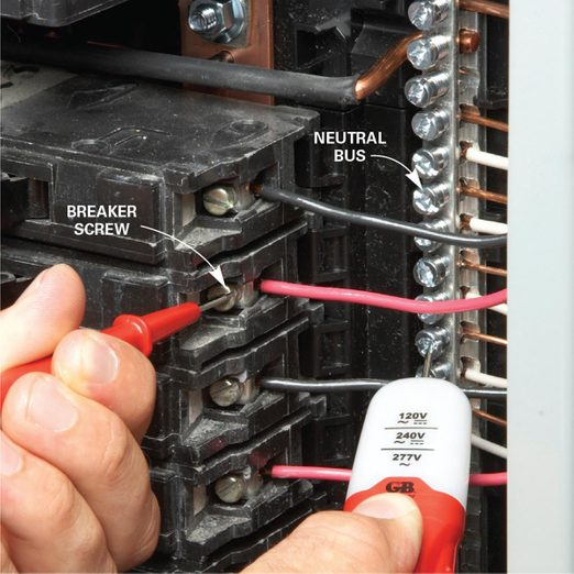 test each and every breaker