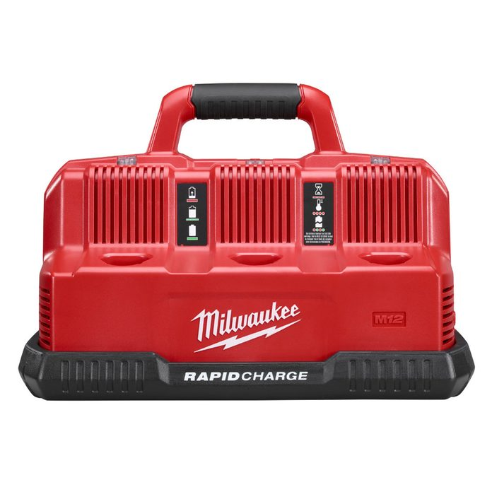 Milwaukee M12 and M18 Battery Charger