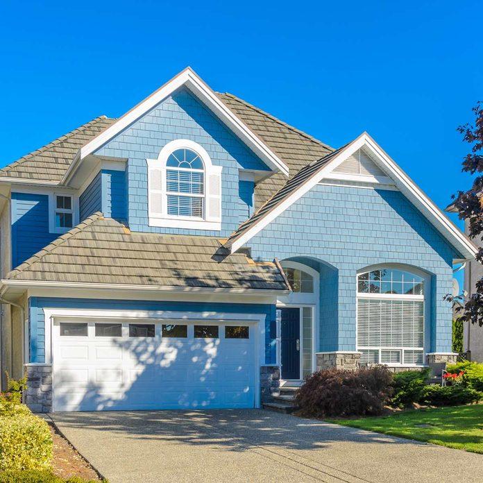 Sky-Blue-House