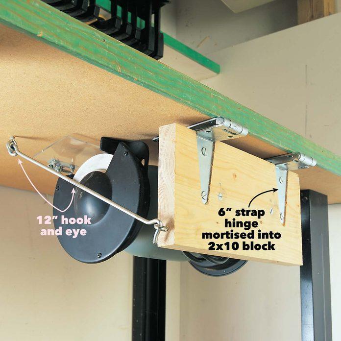 small workshop solution swing up grinder