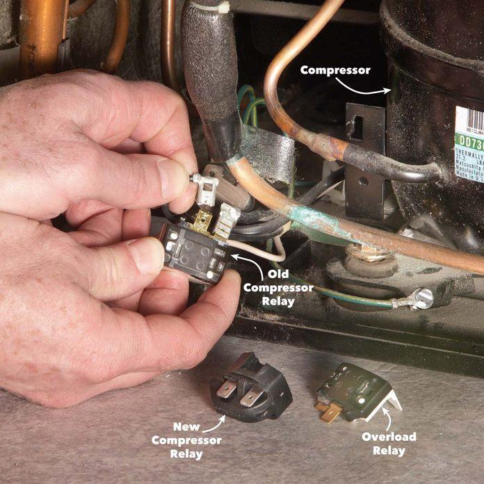 how to test a refrigerator compressor