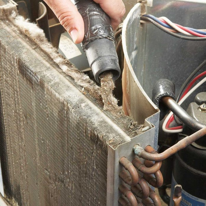 clean out air conditioner crud