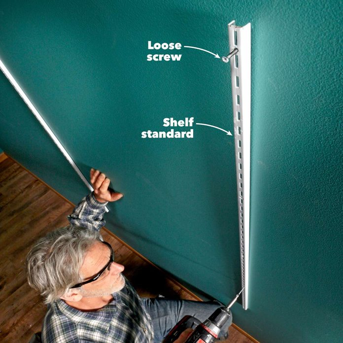 hanging shelves self plumbing shelf standards