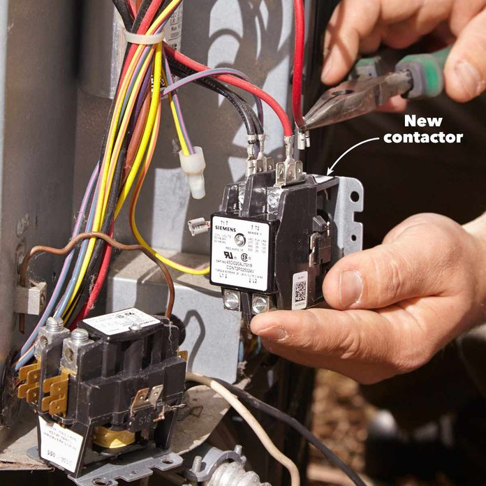 replace the ac contactor