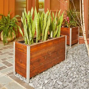 How to Build a Modern Planter