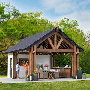 Pavilion Shed Plans