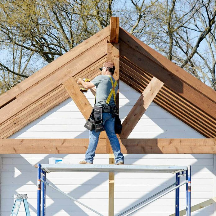 kitchen pavilion shed complete gable end