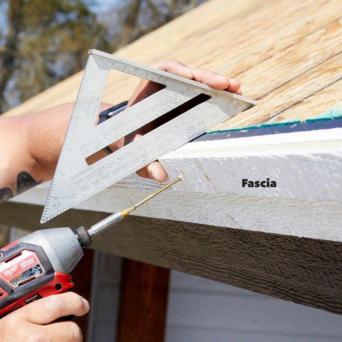 kitchen pavilion shed trim the roof