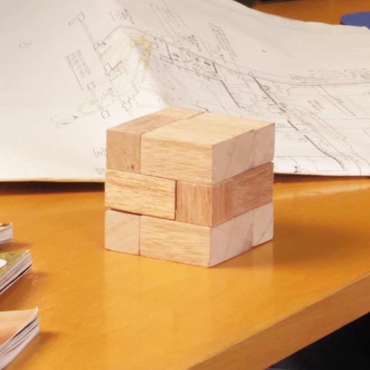 wood puzzle cube featured