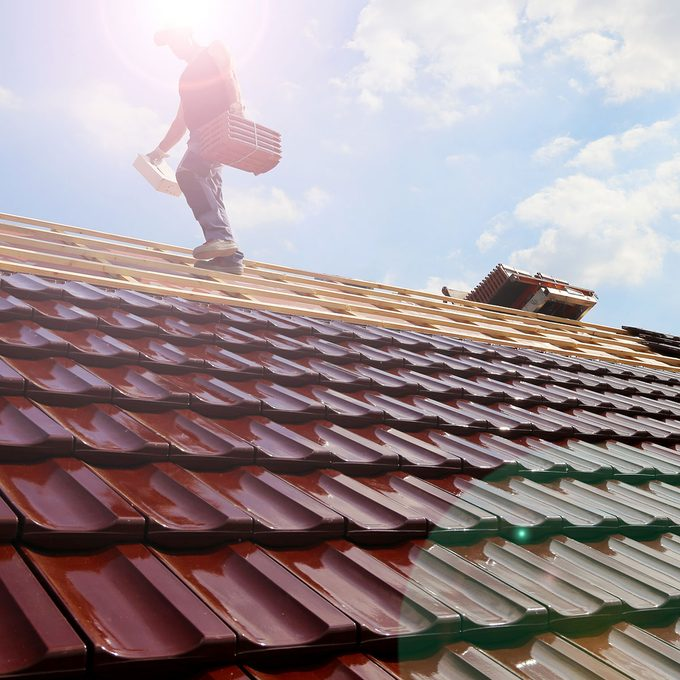 laying special tile shingles on a roof   Construction Pro Tips