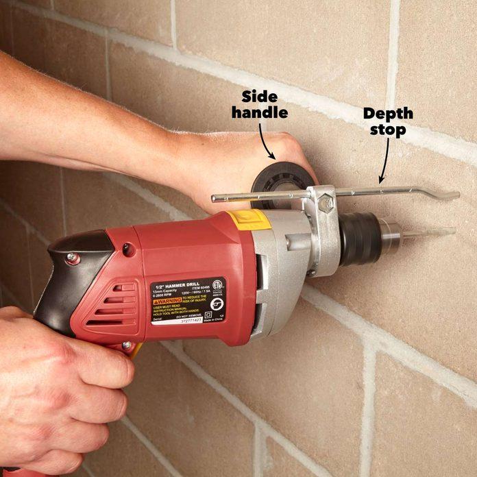 rotary vs hammer drills depth stop