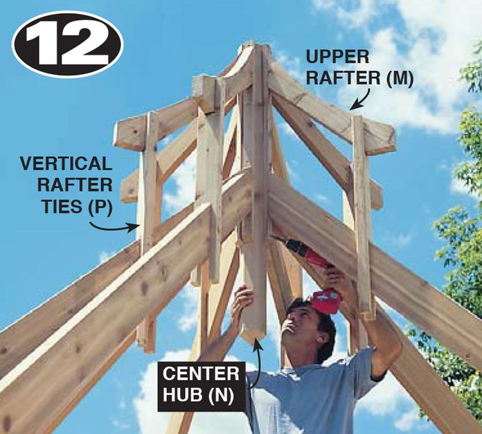 build a gazebo