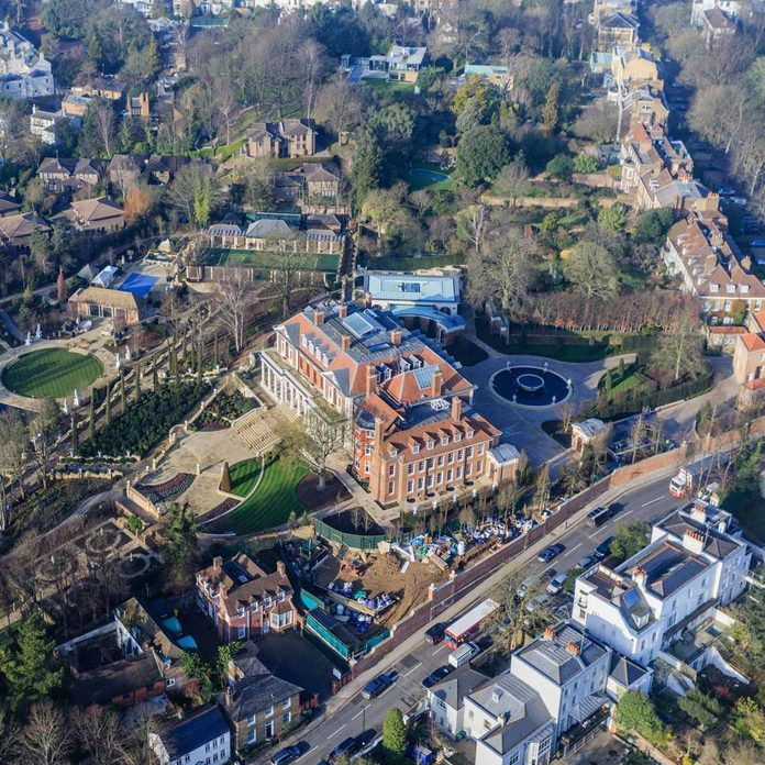 Witanhurst House, London's largest private residence, Highgate Hill, London