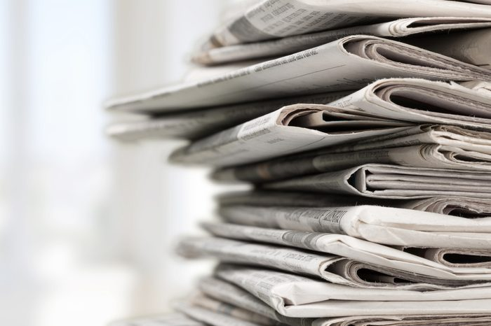Newspaper.