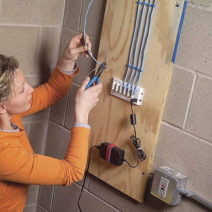 how to wire a home audio system