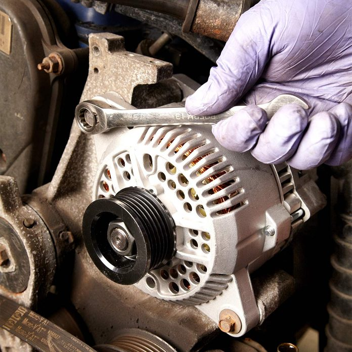 how to replace alternator
