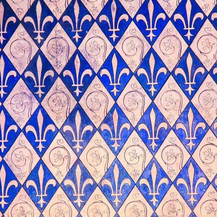 Fleur-de-Lis wallpaper