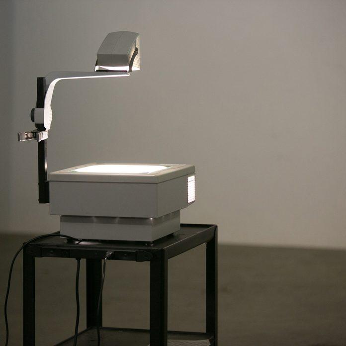 Overhead-projector