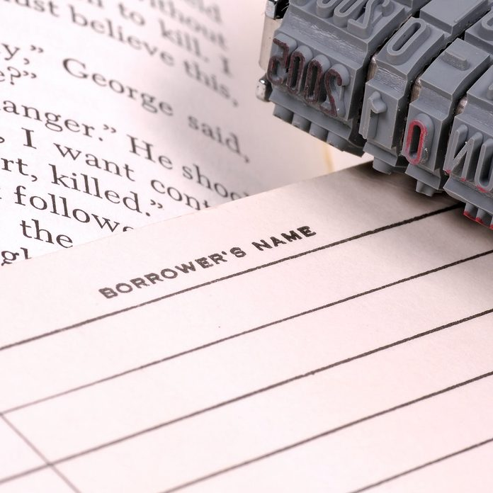 School-library-borrower-card