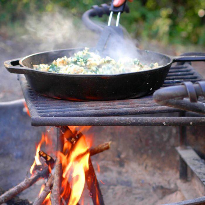 campfire camping hack