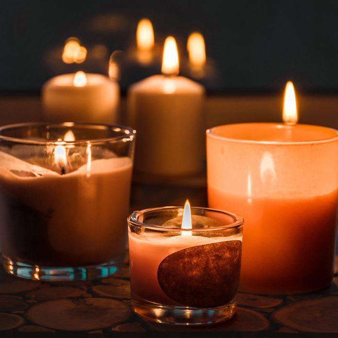 Burning-candles-on-the-windowsill.