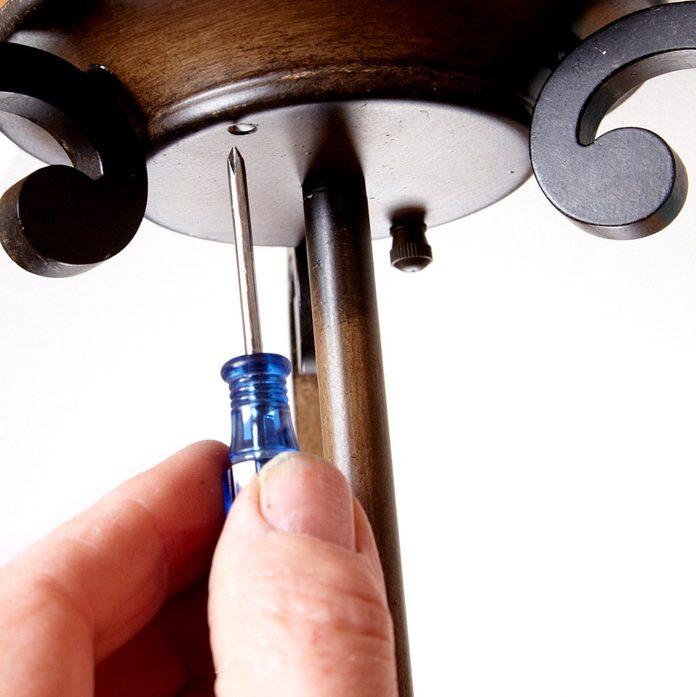aligning screw holes