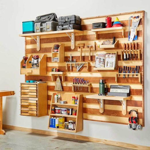 french cleat tool wall featured