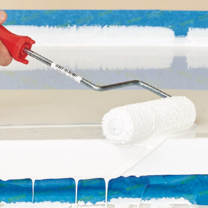 Roll the edges for epoxy countertops