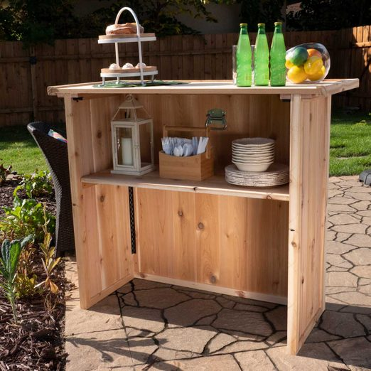 folding outdoor bar featured image