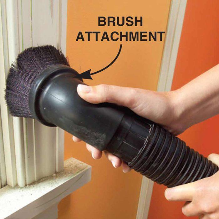 vacuum trim paint prep dust