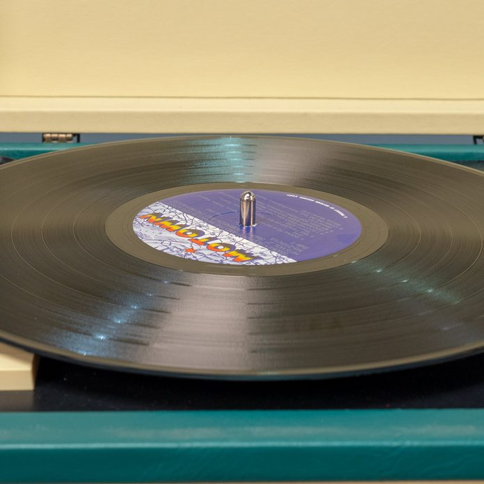 air dry record player