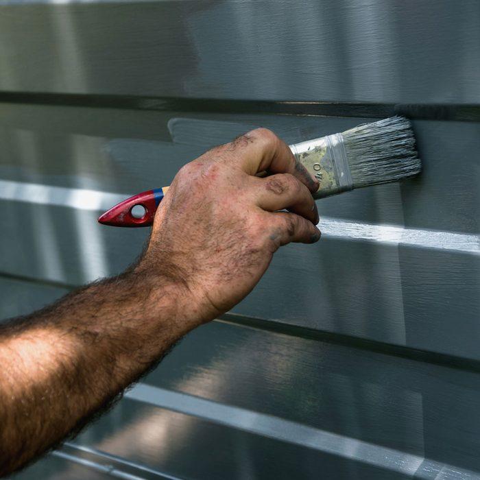 Painting Garage Door Gettyimages 804354964