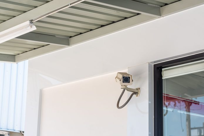 CCTV security camera for residence or store protection