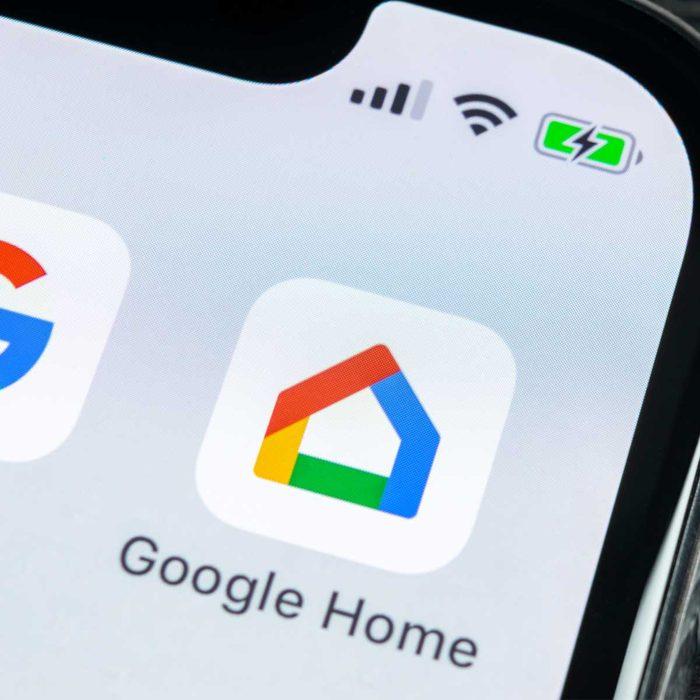 google home app icon