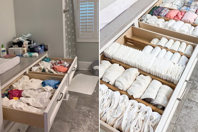 kids drawers home organization makeover