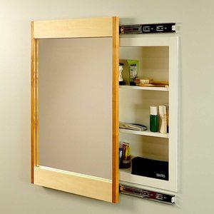 How to Make a Sliding DIY Mirror Frame