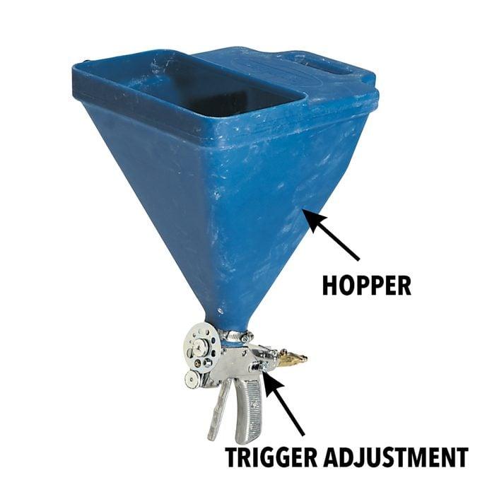 hopper-gun