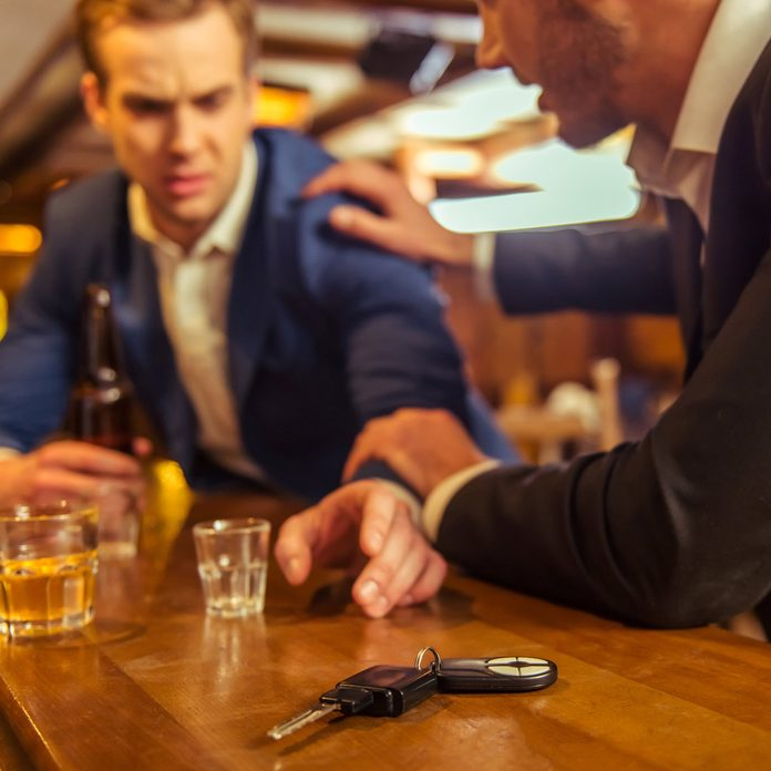drunk driving while under the influence bar